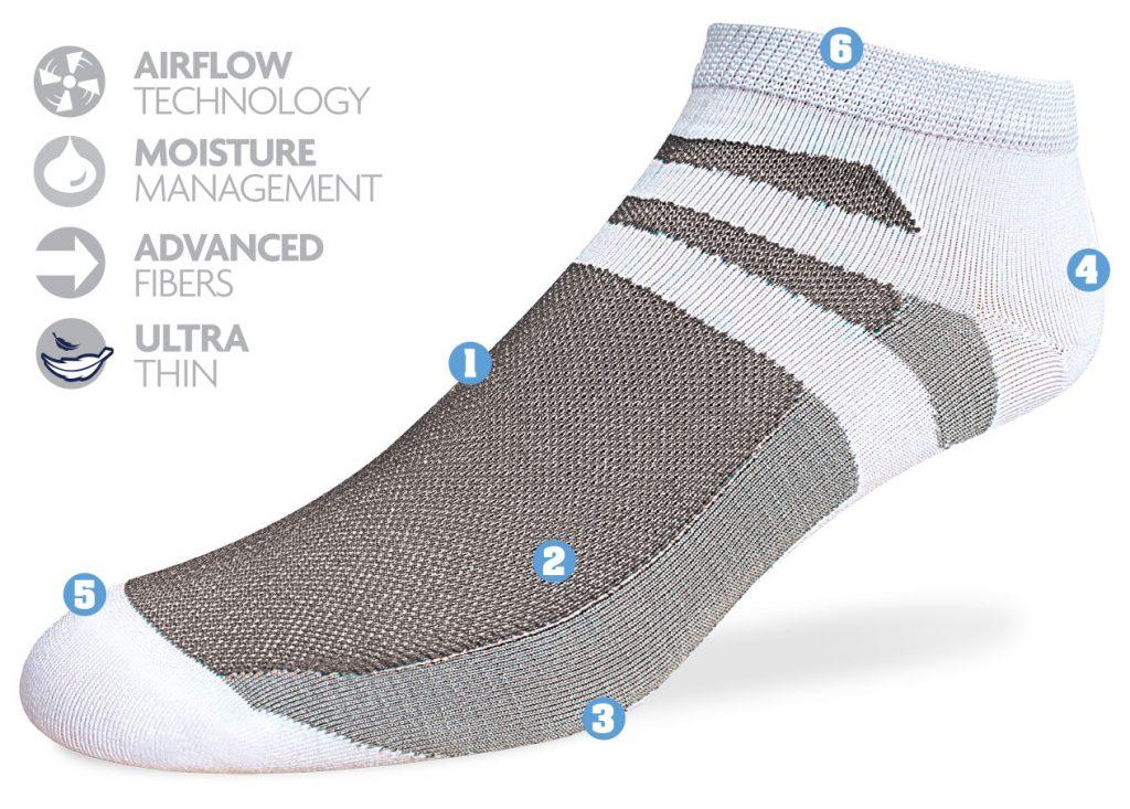 running socks for men, mens athletic socks