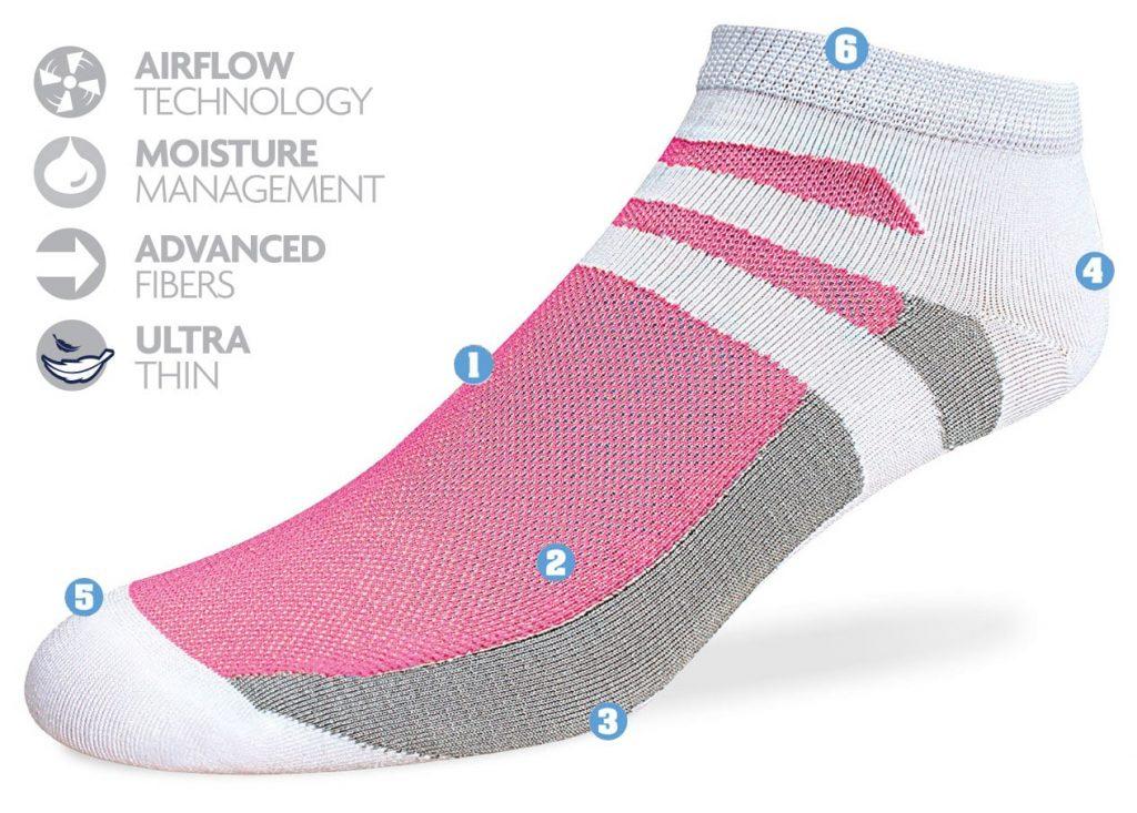 running socks womens, womens golf socks